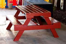 Plans To Build A Picnic Table Bench by Ana White Pallet Picnic Table How To Diy Projects