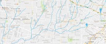 Hydrology Map Beyond The La River U2013 Hidden Hydrology