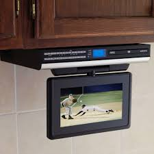 Sony Under Cabinet Kitchen Cd Clock Radio by Buying An Under Cabinet Tv