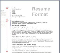 Good Objective For Resume      Format Microsoft Words  ats resume       resume