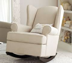Upholstered Glider Rocking Chair Design Pottery Barn Kids Rocking Chair Gray Colored