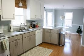 Paint Colors For Kitchen Walls With Oak Cabinets Blue Gray Kitchen Walls Blue Kitchen Kitchen Color Pinterest