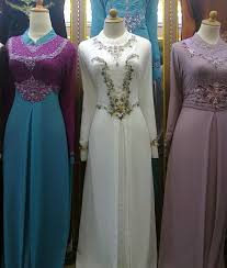 Model Baju Gamis Muslim Terbaru 2013