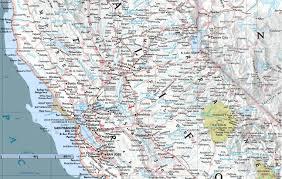 California Maps Map Of Central California California Map