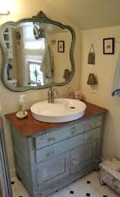Vanity Dresser Old Dresser For Bathroom Vanity Bathroom Pinterest Bathroom