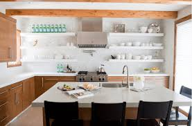 Kitchen Shelf Decorating Ideas How To Achieve And Love Open Shelving In Your Kitchen Freshome Com