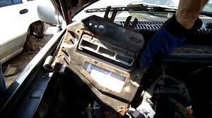 jeep grand cherokee computer removal youtube