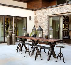 Dining Room Tables Seattle Industrial Bar Table With Industrial Dining Set Patio Industrial