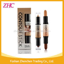 kiss beauty stick foundation packaging double ended 2 in1 contour