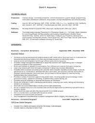 Technical Skills On Cv Resume Technical Skills Categories Augustais