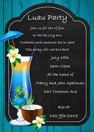 new home party invitations luau tropical and beach party invitations new selections fall 2017