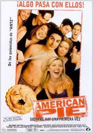 American Pie es la primera parte de la saga American Pie. Esta pel�cula estadounidense, de humor procaz, ambientada en la ciudad ficticia de East Great Falls, M�chigan, Estados Unidos. (basada en East Grand Rapids, ciudad natal del guionista). Fue estrenada en Estados Unidos el 9 de julio de 1999 y gener� 101 millones de d�lares en aquel pa�s, con un presupuesto de s�lo 10 millones de d�lares.