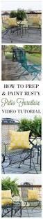 Spray Painting Metal Patio Furniture - best 25 rusty metal ideas only on pinterest rust aging metal