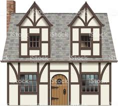 old english tudor home stock vector art 455462079 istock