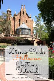 disney parks halloween costume tutorial haunted mansion maid