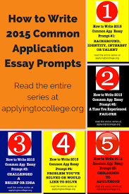 College admission essay writing prompts Pinterest