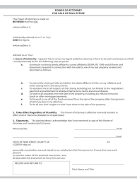 Power Of Attorney Form Pdf Free Download by Real Estate Power Of Attorney Form 7 Free Templates In Pdf Word
