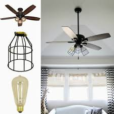 Which Way Should Ceiling Fan Turn Crazy Wonderful Diy Cage Light Ceiling Fan
