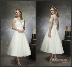 vera wang tea length wedding dresses pictures ideas guide to