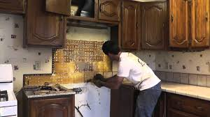 how to install granite countertops on a budget part 1 removing