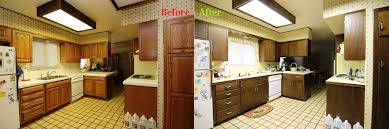 Kitchen Cabinet Refacing Before And After Photos Reface Kitchen Cabinets U2013 A Cheap Way To Give A New Look To Your