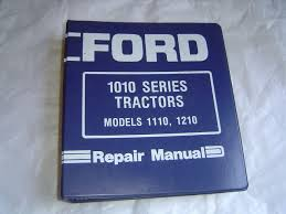 ford 1110 1210 tractor service manual repair shop manual factory