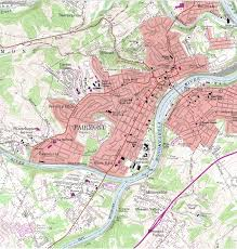 Virginia On Map by