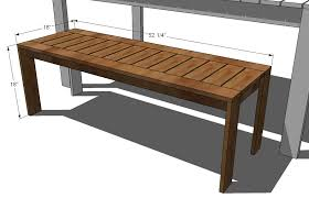 Free Wooden Garden Chair Plans by Wooden Outdoor Benches Plans Simple Home Decoration