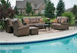 Wicker Outdoor Furniture Sets by Rosedown 7 Piece Cast Aluminum Patio Furniture Set Contemporary