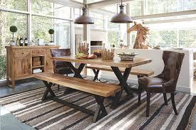 Wesling Dining Room Bench Ashley Furniture HomeStore - Ashley furniture dining table with bench