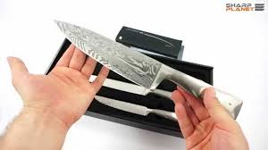 Gourmet Kitchen Knives Wmf Damasteel Knife Set Review Youtube