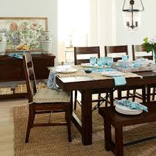 Eastwood Tobacco Brown Dining Tables Pier  Imports - Pier one dining room sets