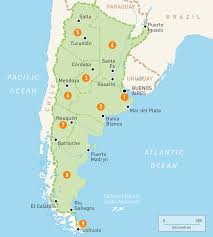 Map Of South America And Caribbean by Map Of Argentina Argentina Regions Rough Guides Rough Guides