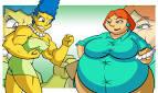 marge simpson vs lois griffin