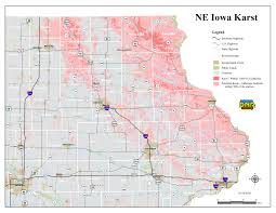 Map Of Iowa State by Private Well Testing