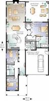 house plan w3240 detail from drummondhouseplans com 1st level single storey 3 bedroom with en suite garage and covered terrace plan styles