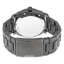 fossil black friday 2017 fossil machine black dial smoke ip stainless steel men u0027s watch