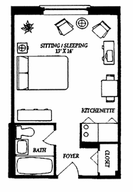 apartment amazing efficiency apartment floor plans smart
