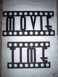 Home Movie Theater Wall Decor Old Movie Theme Party Decorate The Home Cinema Walls With Fun