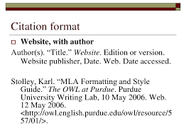 Purdue OWL Purdue Online Writing Lab   Purdue University Annotated Bibliography Example Purdue OWL MLA