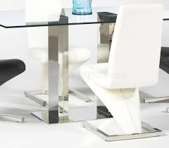 Glass Rectangle Dining Table Glass Top Modern Dining Table W Optional Side Chairs