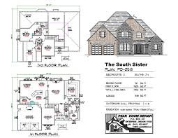 the south sister pd0518 peak home design oregon