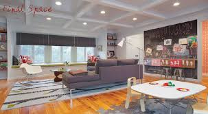 Project Breakdown KidFriendly Living Room Living Rooms - Family room office