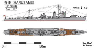 Japanese destroyer Harusame