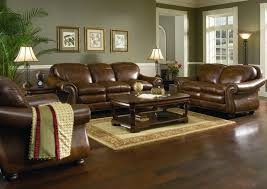 Green And Beige Rug Family Room Ideas With Beige Sectional Sofas Brown Leather Sofa