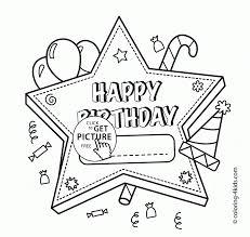 happy birthday printable coloring pages pooh cartoon happy