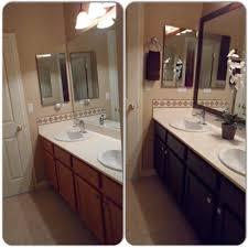 Rustoleum Kitchen Cabinet Paint Main Bathroom Remodel Framed Mirror With Mdf Trim Then Spray