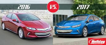 nissan leaf vs chevy bolt 2017 chevy volt vs 2016 chevy volt
