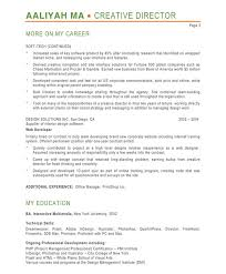 Examples Of Creative Resumes by Creative Director Resume Samples U0026 Examples