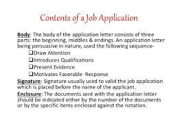 Sample Job Application Letter For Summer Job Job